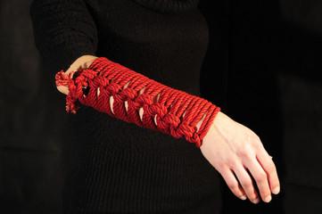 Bracciale di corda