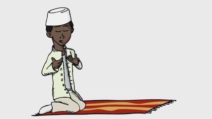 Praying Boy I