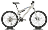 Fototapety Sport silver bicycle