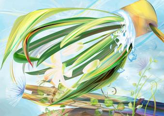 plant in garden-01
