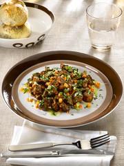 ragoût de veau - veal stew - spezzatino di vitello al fondente