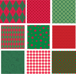 Christmas vector backgrounds