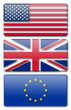 usa uk ue drapeaux