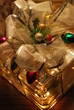 Glass Christmas gift decoration