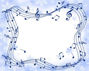 スノーフレークと音楽