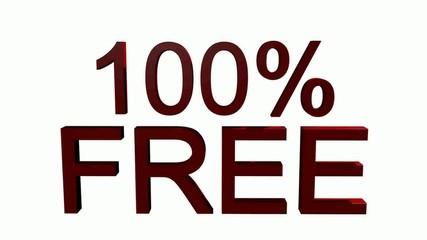 100% - Free
