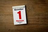 1 November Allerheiligen poster
