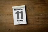 11 November Martinstag poster