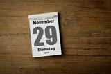29 November poster