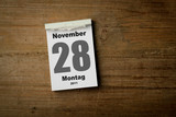 28 November poster