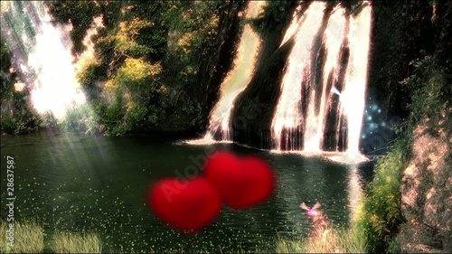 Enchanted lake, love.