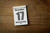 17 November poster