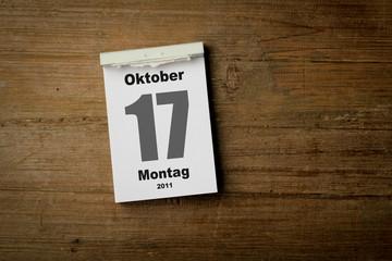 17 Oktober