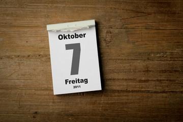 7 oktober