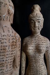 Acupuncture Figurines