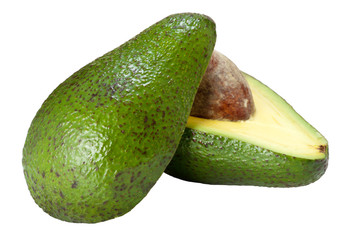 Avocado on half