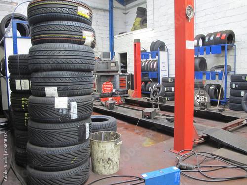 garage pneu