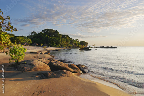 Makuzi Beach Malawi, early morning - 28649310