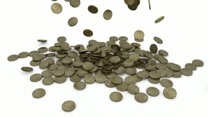 pioggia monete