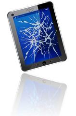 broken tablet tactil PC