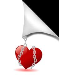 cuore incatenato