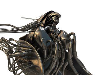 Golden wired Archangel