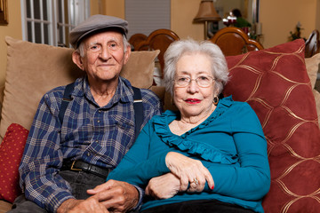 Elderly Senior Couple