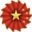 china cockade - coccarda cinese