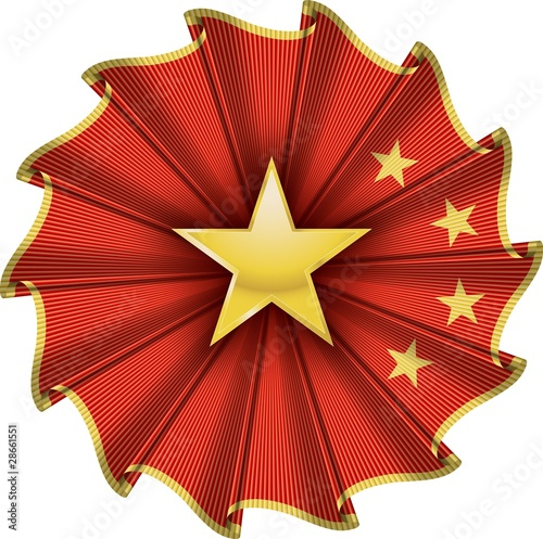 china cockade - coccarda cinese