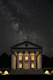 rotunda and milky way