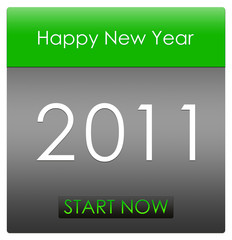 happy new year 2011 start now