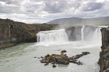 Cascada de Goðafoss (Islandia)