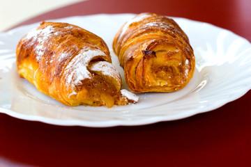 Sweet dessert (macro)
