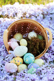 Easter Eggs and Basket