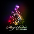 colorful background for new year and Christmas.