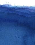水彩による青の抽象画 - 28670979