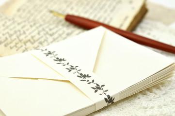 Fountain Pen and Envelopes
