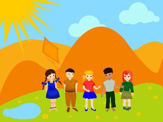 Children Background