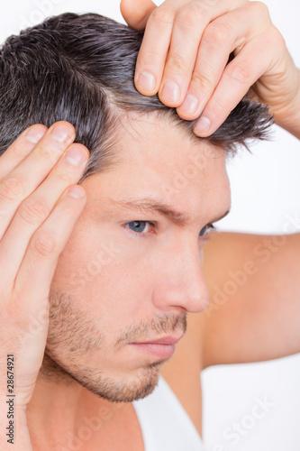 männliches Haar