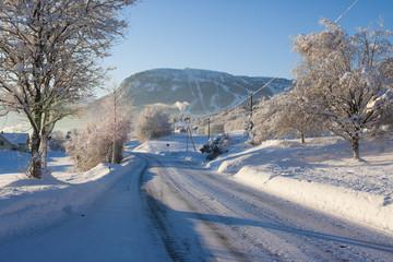 Desember Morning in Voss, Norway