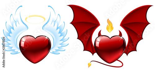 Good vs evil hearts