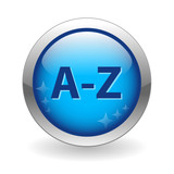A-Z Web Button (dictionary search index directory go find now) poster