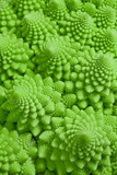 Macro photo of fresh Romanesco