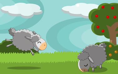 pecore allegre