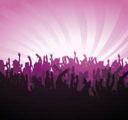 Konzert Jubel Hände Arme Party