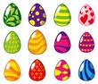 cartoon color egg