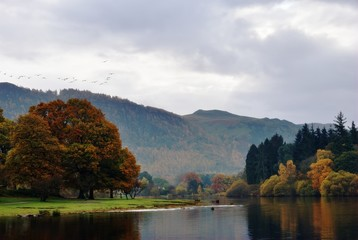 Autumn view from Friar's Crag