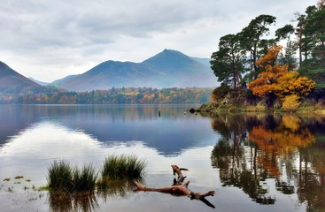 Autumn reflections at Friar's Crag