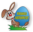 Easter Rabbit Frohes Osterfest