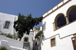 White houses of Patmos Chora - Dodecanese Islands